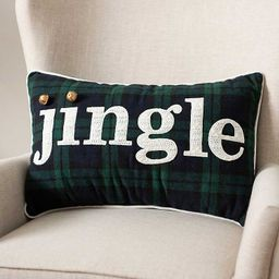 New!Jingle Accent Pillow with Bells | Kirkland's Home