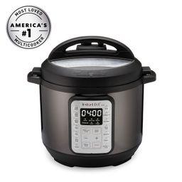 Instant Pot VIVA Black Stainless 6-Quart 9-in-1 Multi-Use Programmable Pressure Cooker, Slow Cook... | Walmart (US)