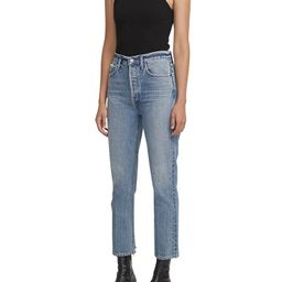 Riley Cropped Straight Jeans in Emulsion | Bloomingdale's (US)