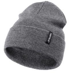 FURTALK Toddler Knitted Winter Hat Boys Girls Acrylic Beanie Hat Baby Kids Cuffed Winter Hats | Amazon (US)