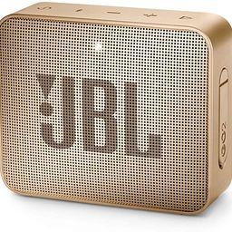 JBL GO2 - Waterproof Ultra Portable Bluetooth Speaker - Blue | Amazon (US)