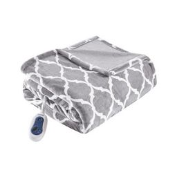 """Electric Ogee Printed Oversized Throw 60x70"""" - Beautyrest 
