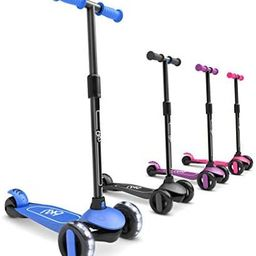 6KU 3 Wheels Kick Scooter for Kids and Toddlers Girls & Boys, Adjustable Height, Learn to Steer w...   Amazon (US)