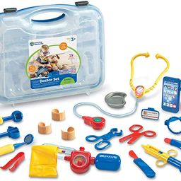 Learning Resources Pretend & Play Doctor Kit For Kids, Blue Doctor/Veterinarian Costume, 19 Piece...   Amazon (US)