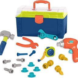 Battat – Battat Busy Builder Tool Box – Durable Kids Tool Set – Pretend Play Construction T...   Amazon (US)