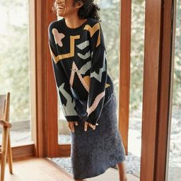 Roslyn Sweater (Abstract Multi) – Sweaters – Amour Vert | Amour Vert