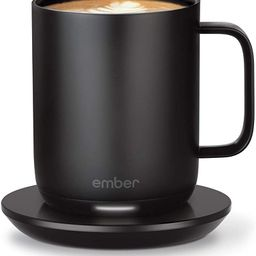 NEW Ember Temperature Control Smart Mug 2, 10 oz, Black, 1.5-hr Battery Life - App Controlled Hea... | Amazon (US)