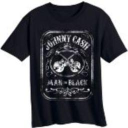Toddler Boys' Johnny Cash Short Sleeve T-Shirt - Black   Target