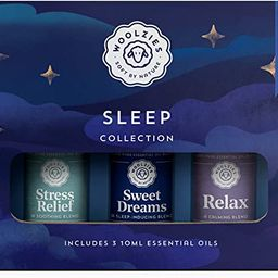 Woolzies Sleep Collection Essential Oil Blend Set | Incl. Sweet Dreams, Relax, & Stress Relief Oi... | Amazon (US)