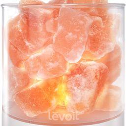 LEVOIT Cora Himalayan Salt Lamp, Pink | Amazon (US)