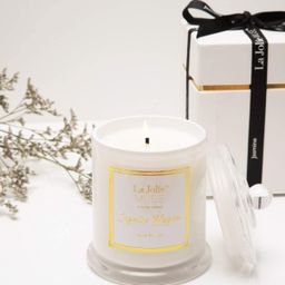 LA JOLIE MUSE Jasmine Scented Candle, Gift for Women, Natural Soy Wax, 65 Hours Burn Fine Home Fr... | Amazon (US)