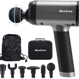 MaxKare Massage Gun with Percussion Massage for Athletes Deep Tissue Muscle Massager with 6 Inter... | Amazon (US)