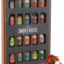 Thoughtfully Gifts, Smokehouse Ultimate Grilling Spice Set, Grill Seasoning Gift Set Flavors Incl... | Amazon (US)