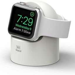 elago W2 Apple Watch Charger Stand Compatible with Apple Watch Series 6/SE/5/4/3/2/1 (44mm, 42mm,... | Amazon (US)