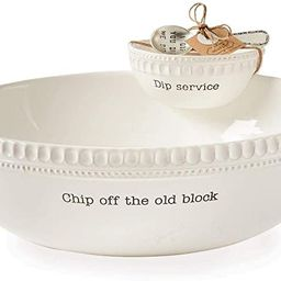 Mud Pie Chip Off the Old Block Stacked Chip and Dip Set | Amazon (US)
