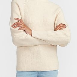 Mock Neck Dolman Sleeve Sweater | Express