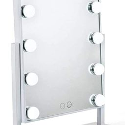 Waneway Lighted Vanity Mirror with 12 x 3W Dimmable LED Bulbs and Touch Control Design, Hollywood... | Amazon (US)
