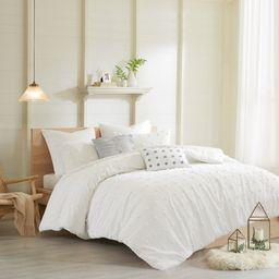 Home Essence Apartment Kay Cotton Jacquard Duvet Cover Set | Walmart (US)