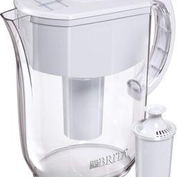 Brita Water Pitcher with 1 Filter, w 1 std, White   Amazon (US)