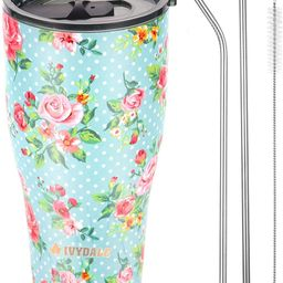 Stainless Steel Tumbler Vacuum Insulated 30oz Tumbler with Lid Sealed Double Wall Travel Cup for ... | Amazon (US)