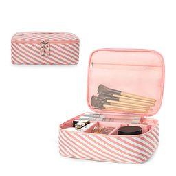 Portable Travel Makeup Bag Cosmetic Bag Organizer Multifunction Case Waterproof Toiletry Makeup B... | Amazon (US)
