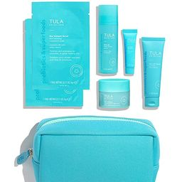 TULA Probiotic Skin Care Ageless Skin Begins Here 5-Piece Discovery Kit | Face Wash, Eye Serum, F... | Amazon (US)