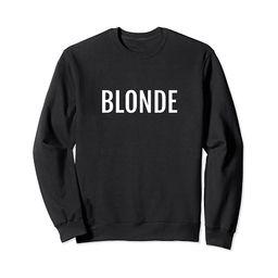 Blonde Cute Casual Sweatshirt | Amazon (US)