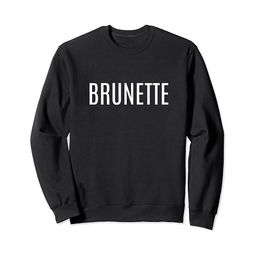 Brunette Cute Casual Sweatshirt | Amazon (US)