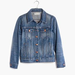 The Jean Jacket in Pinter Wash   Madewell
