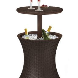Keter Pacific Cool Bar Outdoor Patio Furniture 7.3 kg , Brown | Amazon (US)
