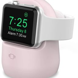 AhaStyle iWatch Charging Stand Silicone Dock for Apple Watch Series SE/6/5/4/3/2/1(44/42/40/38mm)... | Amazon (US)