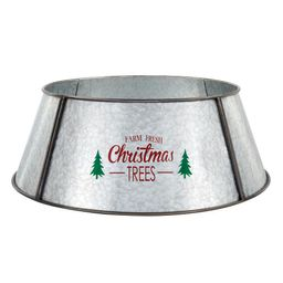 26.5 in Metal Tree Collar | The Home Depot