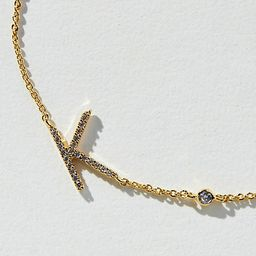 Delicate Monogram Necklace By Anthropologie in   Anthropologie (US)
