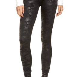 Women's Spanx Faux Leather Camo Leggings (Regular, Petite & Plus Size)   Nordstrom
