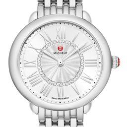 Women's Michele Serein Diamond Watch Head & Bracelet, 36mm | Nordstrom