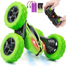 Remote Control Car, ORRENTE RC Cars Stunt Car Toy, 4WD 2.4Ghz Double Sided 360° Rotating RC Car ...   Amazon (US)