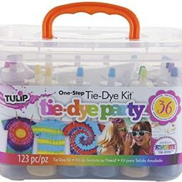Tulip One-Step Tie-Dye Kit Party Creative Group Activities, All-in-1 DIY Fashion Dye Kit, Rainbow   Amazon (US)