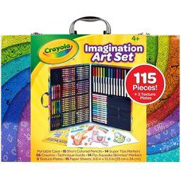 Crayola 115pc Imagination Art Set with Case   Target