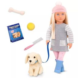 Our Generation Doll with Golden Retriever - Meagan   Target