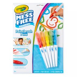 Crayola 6pc Color Wonder Paintbrush Pens Set | Target