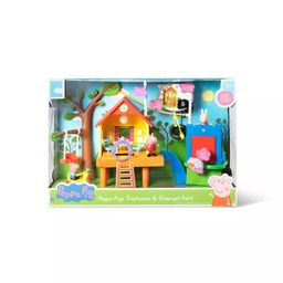 Peppa Pig's Treehouse and George's Fort Playset | Target