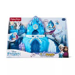 Fisher-Price Little People Disney Frozen Elsa's Ice Palace | Target