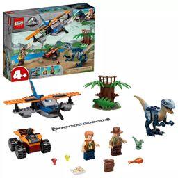 LEGO Jurassic World Velociraptor: Biplane Rescue Mission Dinosaur Toy for Preschool Kids 75942 | Target