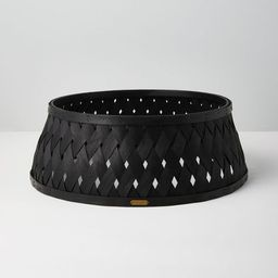 Woven Wood Holiday Tree Collar - Hearth & Hand™ with Magnolia   Target