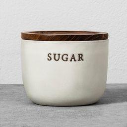 Stoneware Sugar Cellar Cream - Hearth & Hand™ with Magnolia | Target