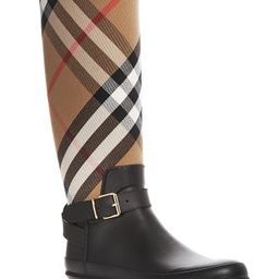 Women's Simeon Signature Check Rain Boots | Bloomingdale's (US)