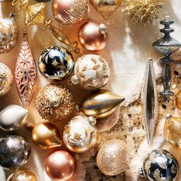 Gold Rush 60-piece Ornament Collection   Frontgate   Frontgate