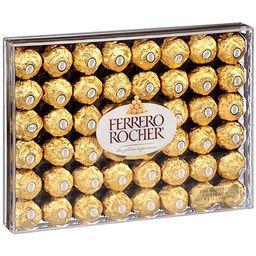 Chocolate Candy Gold Wrap Ferrero Rocher, 48 Count, Christmas Wrap | Amazon (US)