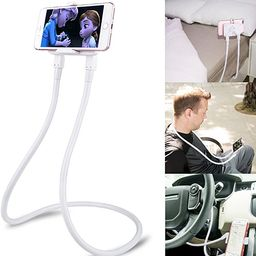 B-Land Cell Phone Holder, Universal Mobile Phone Stand, Lazy Bracket, DIY Flexible Mount Stands w... | Amazon (US)