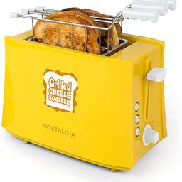 Nostalgia TCS2 Grilled Cheese Toaster with Easy-Clean Toaster Baskets and Adjustable Toasting Dia...   Amazon (US)